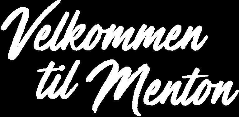 Menton Velkommen til Menton